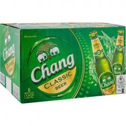 24  Chang Classic Bier in der 0,320 Flasche aus Thailand