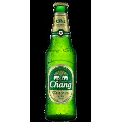 Chang Classic Beer in der 0,320 Flasche aus Thailand