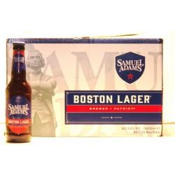 Samuel Adams Boston Lager 24 Flaschen mit 0,33 Ltr. Inh. Craftbier aus den USA