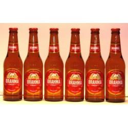 Brahma Chopp 6 Flaschen mit 0,33 Ltr. Inhalt aus Brasilien