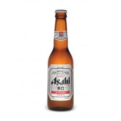 Asahi Super Dry in der 0,33 Ltr. Flasche aus Japan