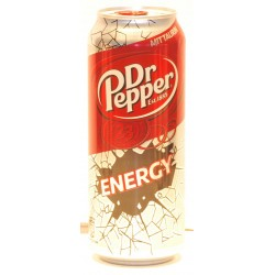 12 x Dr. Pepper Energy in der 0,50 Ltr. Dose