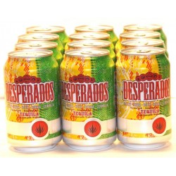 12 x Desperados Tequila Flavoured Beer in der 0,33 Ltr. Dose