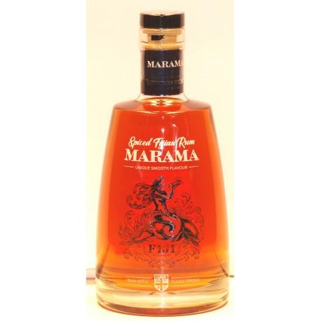 Marama Spiced Rum in der 0,70 Ltr. Flasche von den Fidschi´s