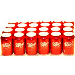 Dr. Pepper in der Dose 24 x 0,33 Ltr. ( inkl. 6,00 € Pfand )