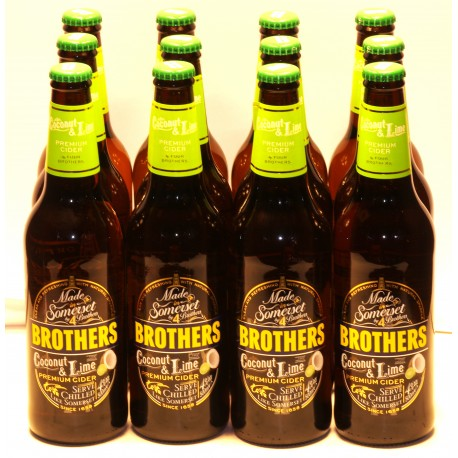 Brothers Cider Coco & Lime