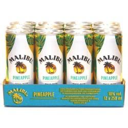 Malibu Pineapple 12 Dosen mit 0,25 Ltr. Inhalt