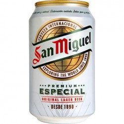 San Miguel Especial 24 x 0,33 Ltr. Dose, inkl. Pfand, aus Spanien