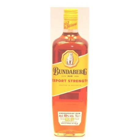 Bundaberg Export Strength  Rum in der 0,70 Ltr. Flasche aus Australien