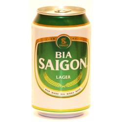 """Saigon Lager """"Bia Saigon"""" 12 Dosen mit 0,33 Ltr. Inhalt aus Vietnam"""