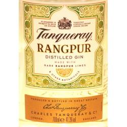 Tanqueray Dry Gin Rangpur in der 0,70 Ltr. Flasche aus Großbritannien