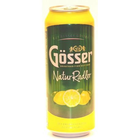 12 Dosen Gösser Naturadler in der 0,50 Ltr. Flasche aus Österreich, inkl. DPG-Pfand