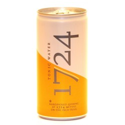 1724 Tonic Water 12 Dosen mit 0,20 Ltr. Inh. aus den Anden