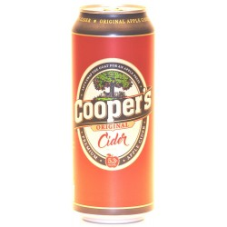 12 Cooper´s Original Apple Cider in der 0,50 Ltr. Dose