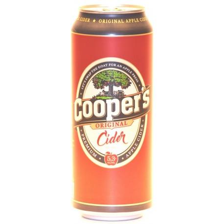 12 Cooper´s Original Apple Cider in der 0,50 Ltr. Dose