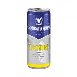 6 x Wodka Mixed Gorbatschow Lemon in der 0,33 Ltr. Dose