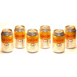 6 x Gordons London Dry Gin & Tonic in der 0,33 Ltr. Dose