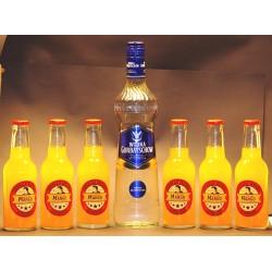 Vodka Gorbatschow 1 xl 0,70 Ltr. und 6 x ThomasHenry Mystic Mango