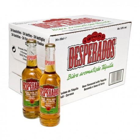 24 x Desperados Tequila Flavoured Beer in der 0,33 Ltr. Flasche