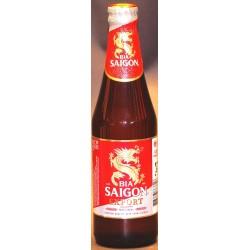 Bia Saigon Export in der 0,33 Ltr. Flasche aus Vietnam