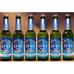 Efes Pilsener 6 Flaschen in der 0,33 Ltr.