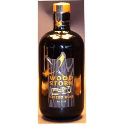 Wood Stork Spiced Rum in der 0,50 Ltr. Flasche aus dem Schwarzwald
