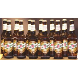 San Miguel Especial 12 Flaschen in der 0,33 Ltr. Flasche aus Spanien