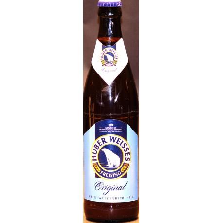 Huber Weisses 12 x in der 0,50 Ltr. Flasche aus Bayern