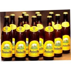 12 Andechs Weißbier Hell in der 0,50 Ltr. Flasche
