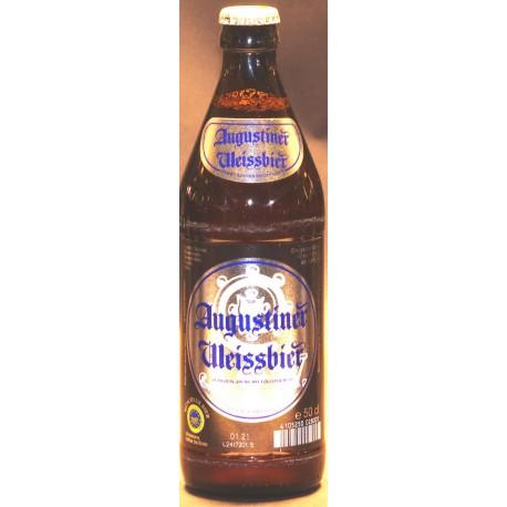 12 x Augustiner Weissbier in der 0,50 Ltr. Flasche aus München