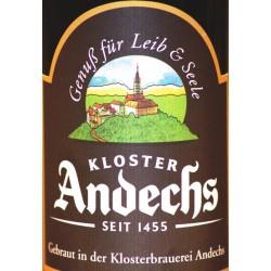 Andechser Weissbier Dunkel 12 x in der 0,50 Ltr. Flasche aus Deutschland