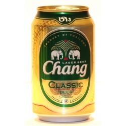 24  Chang Classic Bier in 0,33 Ltr.Dosen aus Thailand