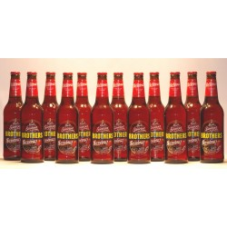 12 Flaschen Brothers Strawberry Cider