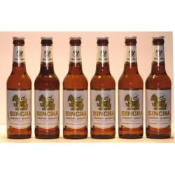 6 Flaschen Singha Bier in 0,33 Ltr. Flasche, Thailand