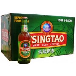 24 Tsingtao Bier in der 0,33 Ltr. Flasche aus Qingdao in China