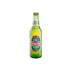 Tsingtao Bier in der 0,33 Ltr. Flasche aus China