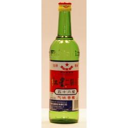 3 Flaschen 0,500 Ltr. Hong Xing er Guo Tuo Jiu BEIJING RED STAR Vodka Wodka aus China