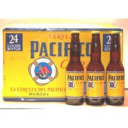 Pacifico Clara Helles Bier aus Mexiko Karton 24 x 0,33