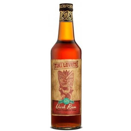 Tiki Lovers Dark Rum 57% vol. 0,70l