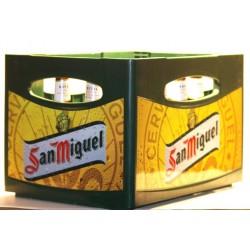 San Miguel Especial 24 Flaschen in der 0,33 Ltr. Flasche aus Spanien
