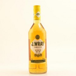J. Wray Gold Rum 1,00l, 40 % aus Jamaika