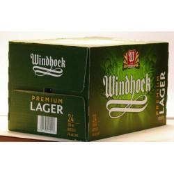 Windhoek Lager 24 Flaschen mit 0,33 Ltr. Inh. aus Namibia