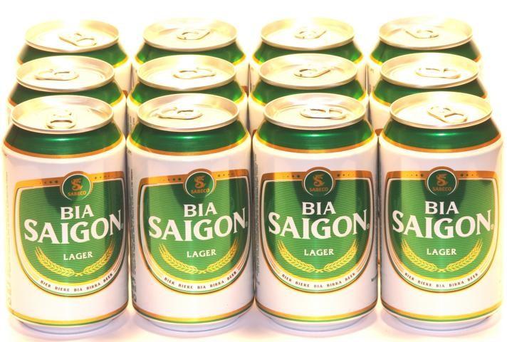 Saigon Vietnam 12 x Dosen